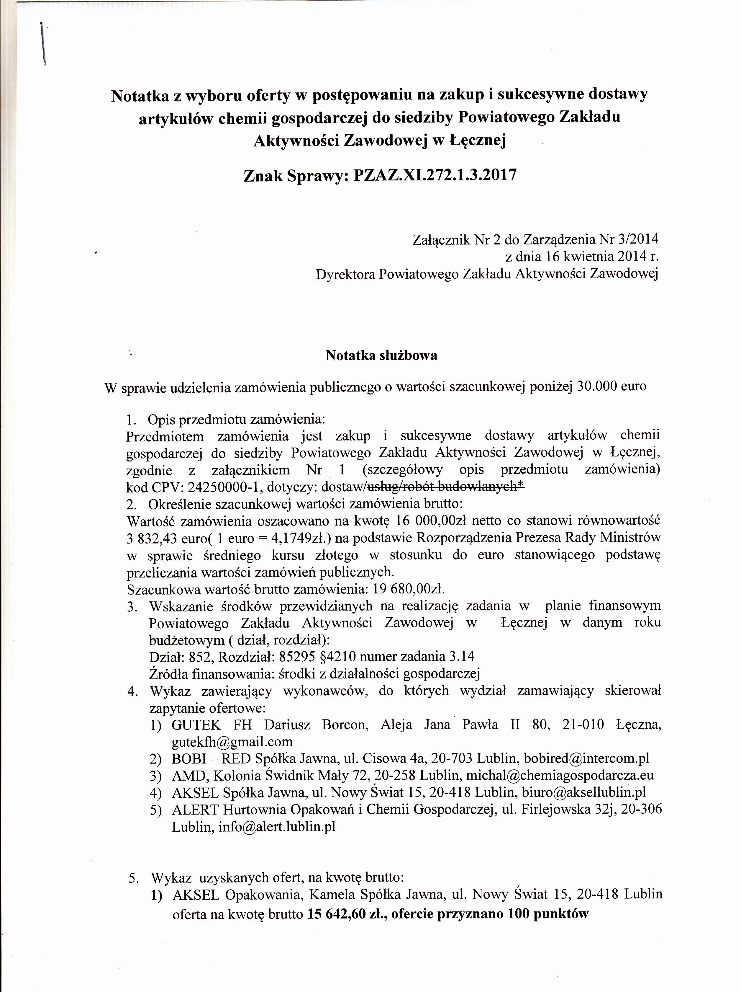 aea6547b52 Archiwum z 2017-09-27 - Zamówienia publiczne - Powiatowy Zakład ...